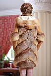Шуба  жилет из лисы  Fox  fur coat and vest, фото 4