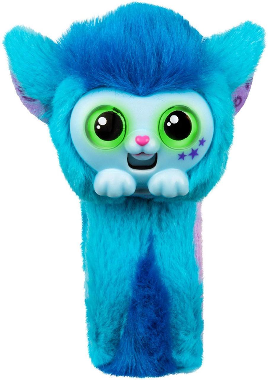 Интерактивная игрушка браслет Скайо синий Little Live Wrapples Slap Bracelets Skyo