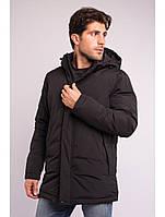 Куртка чоловіча зимова чорна Avecs AV-70266 Black Розміри M/48 2XL/54