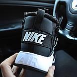 Зимние мужские кроссовки Nike Huarache X Acronym City Winter black white с мехом теплые. Живое фото. Реплика, фото 5
