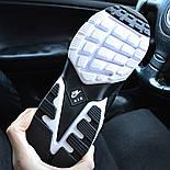 Зимние мужские кроссовки Nike Huarache X Acronym City Winter black white с мехом теплые. Живое фото. Реплика, фото 6