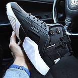 Зимние мужские кроссовки Nike Huarache X Acronym City Winter black white с мехом теплые. Живое фото. Реплика, фото 9