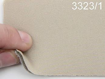 Авто ткань на боковую часть сидений на поролоне и сетке, цвет бежевый, ширина 1.50м, Германия