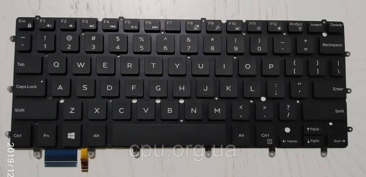 Клавіатура Dell DKDXH для Dell Inspiron 15-7547, 7548; XPS 13-9343, 9350 (ENG) з підсвічуванням