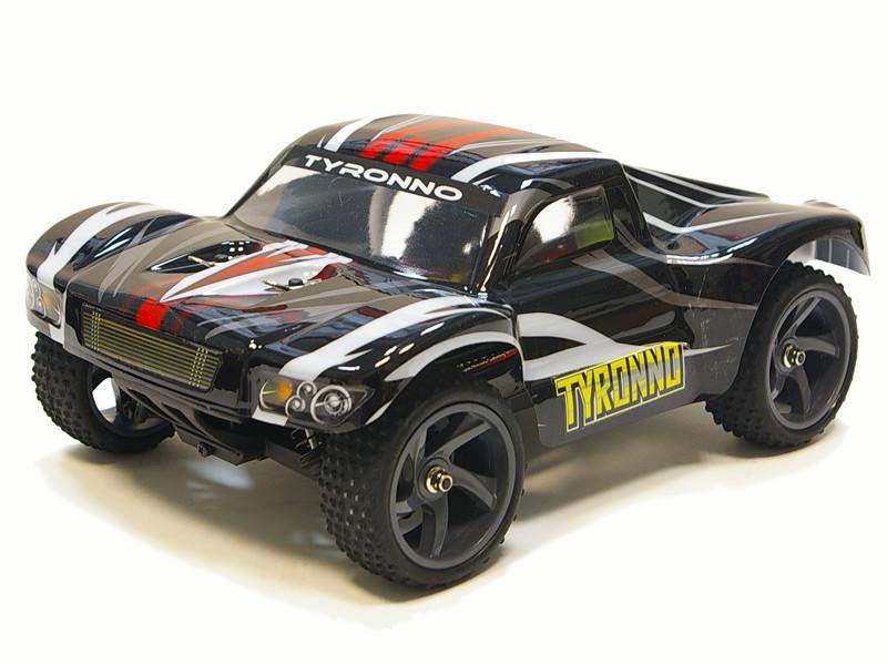 Радіокерована модель Шорт 1:18 Himoto Tyronno E18SC Brushed (чорний)
