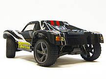 Радіокерована модель Шорт 1:18 Himoto Tyronno E18SC Brushed (чорний), фото 2