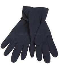 Перчатки из микрофлиса темно-синие