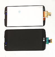 Дисплей модуль LG K10 LTE K410 K420N K430 K430ds в зборі з тачскріном, чорний