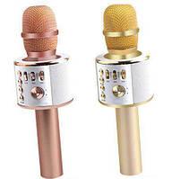 Беспроводной микрофон караоке Q37 Bluetooth,Встроенная колонка