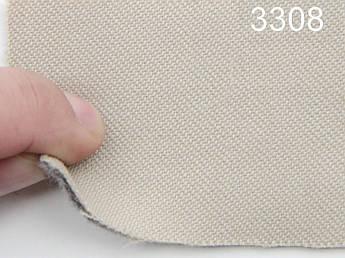 Авто ткань на боковую часть сидений на войлоке, цвет бежевый, ширина 1.50м, Германия