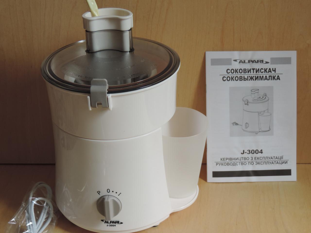 Соковыжималка Alpari J-3004.Мини соковыжималка.