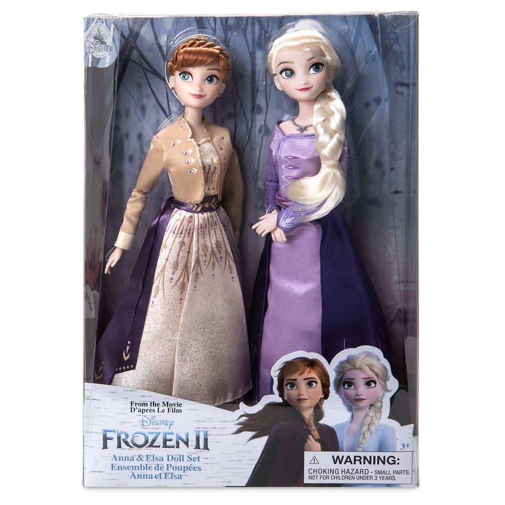 Анна и Эльза Холодное сердце 2 лимитированный набор кукол DISNEY