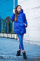 Зимняя курточка Зефирка чернило
