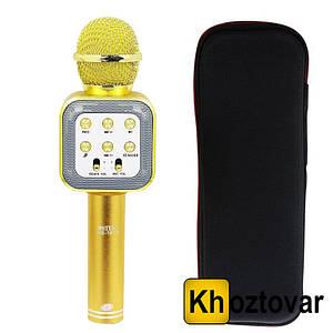 Караоке-мікрофон з чохлом Wster WS-1818 Bluetooth