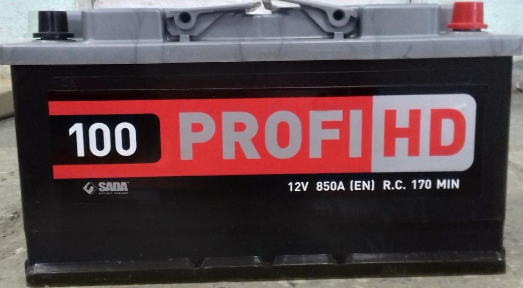АКБ 6 ст 100 А (850EN) (0) Profi HD Сада Євро