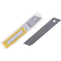 Лезвия для канцелярских ножей 9мм 10шт. FENG RUI BLADE (1/30/600)