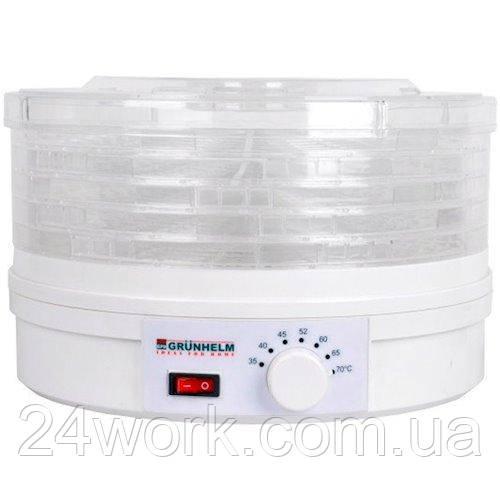 Электросушилка для овощей и фруктов GRUNHELM BY1102 на 5 л (5 ярусов)