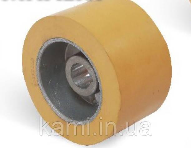 Ролик подающий для четырехстороннего станка 100x25х60 мм
