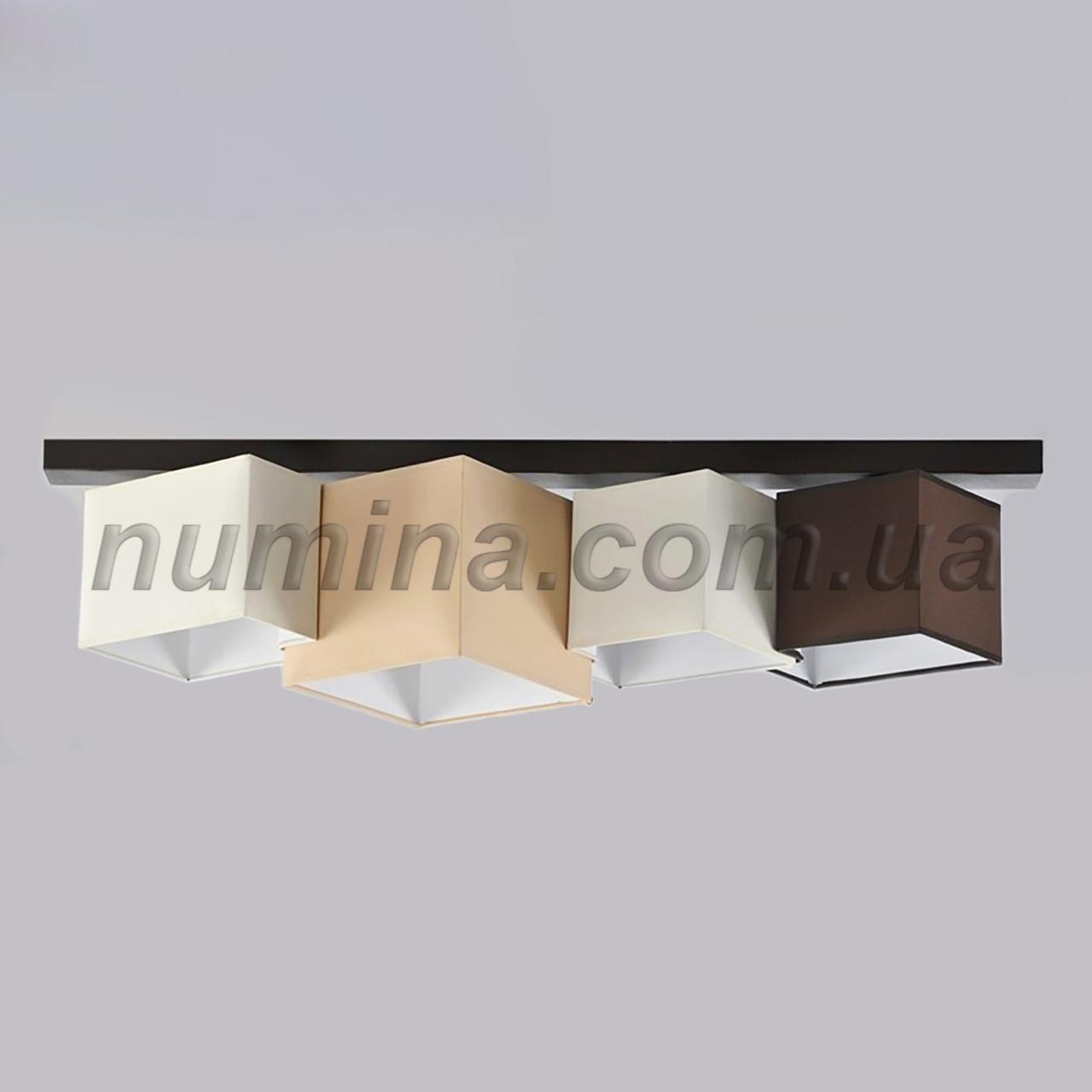 Люстра потолочная на 4 лампы 29-H172/4G BK+MIX