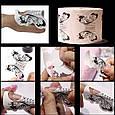 """Форми для нарощування нігтів """"Метелик"""" - рулон 300 шт. (6,3 * 6,5 див.), фото 6"""