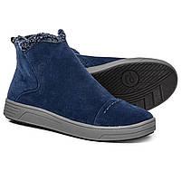 Ботинки Easy Spirit North Ankle Booties - Suede Dress Blue  - Оригинал