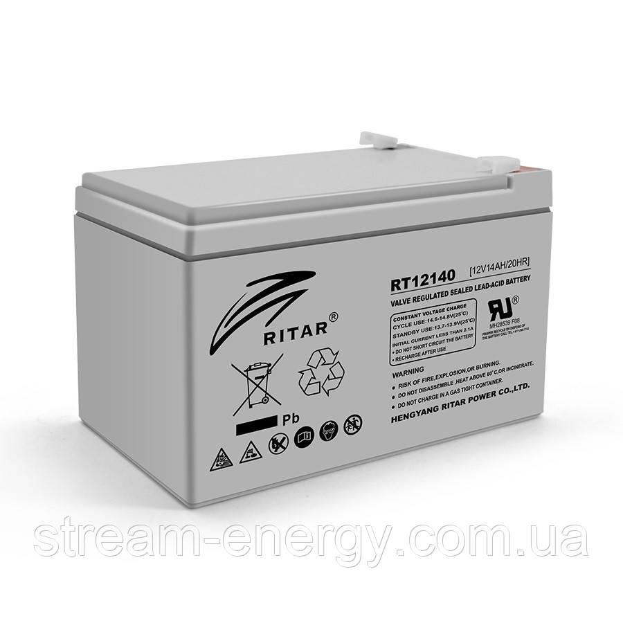 Аккумулятор AGM Ritar (12В -14Ач) RT12140H