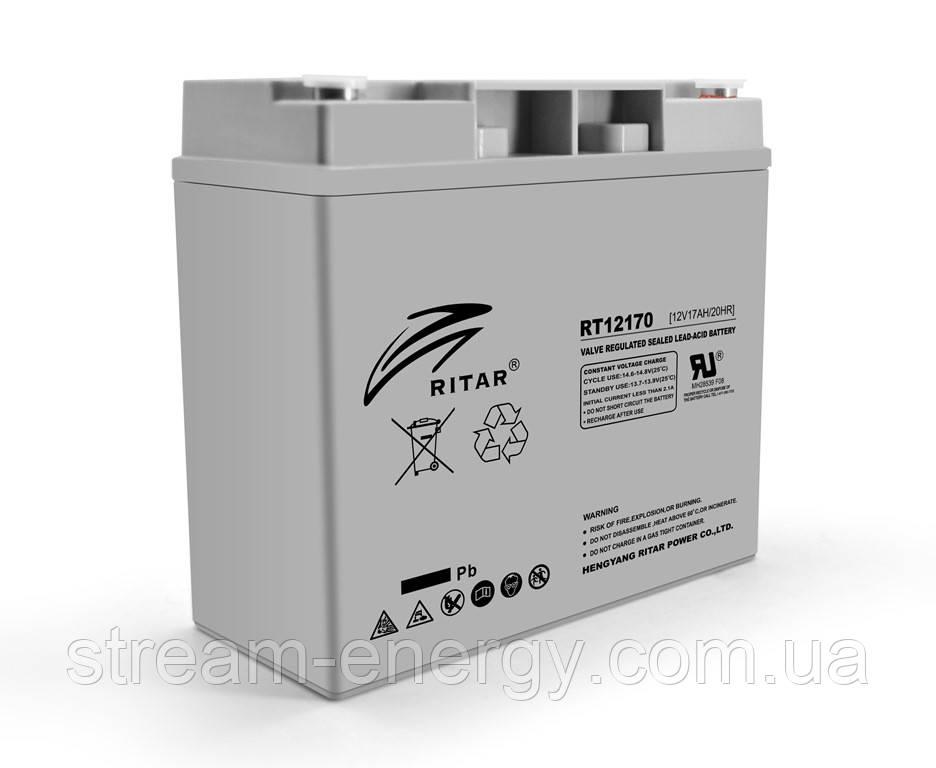 Аккумулятор AGM Ritar (12В -17Ач) RT12170H