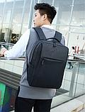 Рюкзак городской JinDian с USB, фото 7