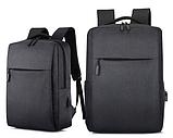Рюкзак городской JinDian с USB, фото 2