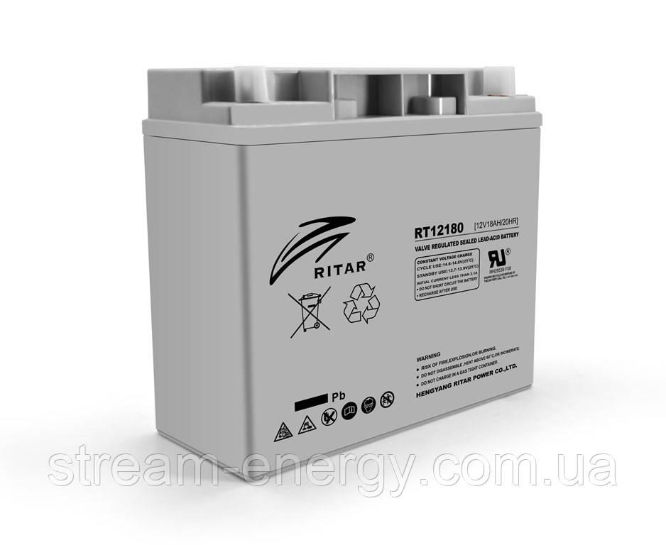 Аккумулятор AGM Ritar (12В -18Ач) RT12180