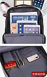 Рюкзак городской JinDian с USB, фото 8