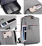 Рюкзак городской JinDian с USB, фото 5