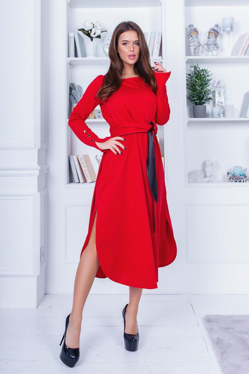 Платье миди в расцветках 781059