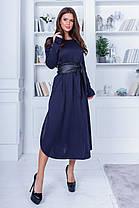 Платье миди в расцветках 781059, фото 3