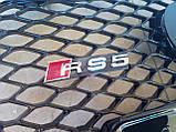 Решетка радиатора Audi A5 2011-2016 в стиле RS5, фото 3