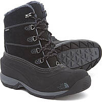 Ботинки The North Face Chilkat III Lace-Up - Waterproof, Insulated Tnf Black/Zinc Grey  - Оригинал
