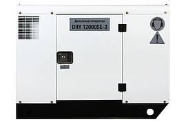 Трехфазный дизельный генератор Hyundai DHY 12000SE-3 (11 кВт)