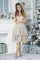 Платье  вечернее в расцветках  41657, фото 1