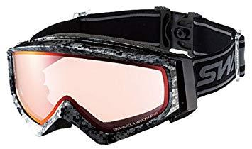 Гірськолижна маска SWANS Guest Mpdh Matrix Ski Goggles Silver