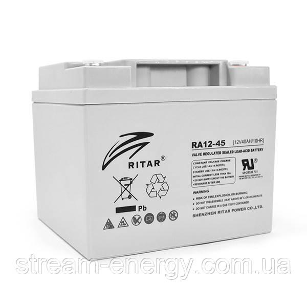 Аккумулятор AGM Ritar (12В -45Ач) RA12-45