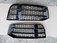 Решетки в бампер Audi A5 2011-2015 стиль RS5, фото 1