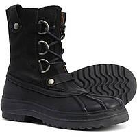 Ботинки Eric Michael Made in Portugal Fargo Duck - Waterproof, Leather Black  - Оригинал