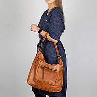 Модная женская сумка Sisters 930 brown