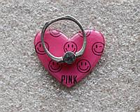 Держатель кольцо для телефона (попсокет / popsocket / подставка) Ring сердце 2