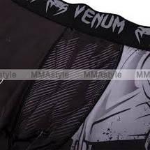 Компрессионные штаны Venum Minotaurus Spats Black, фото 3
