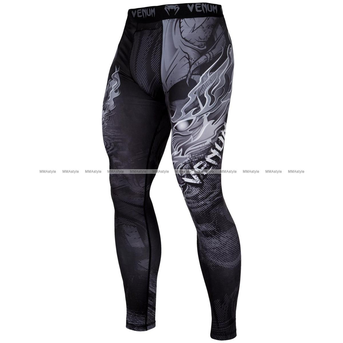 Компрессионные штаны Venum Minotaurus Spats Black