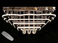 Светодиодная потолочная люстра с хрустальными подвесками с пультом-диммероми 5045-600 Dimmer, фото 1