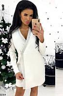 Платья с пуговицами ,белое платье ,платье пиджак , серое платье,платья осень зима,теплые платьяЮ