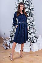 Сукня сорочка міді в кольорах 781052, фото 3