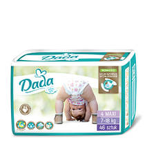 Dada Extra soft 4 MAXI  /7‑18 кг/ Подгузники детские одноразовые 46 шт./уп